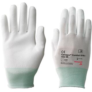 7 9 10x KCL Honeywell Polymex N 916 PVC Arbeitshandschuhe Weiß Gr