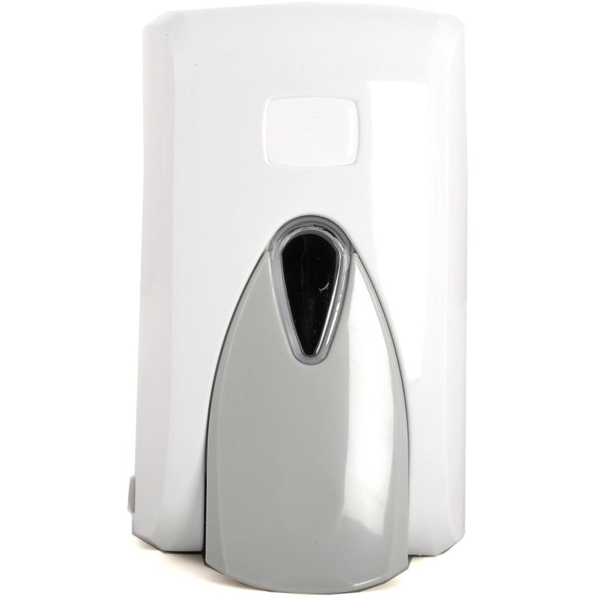 seifenspender kunststoff wei nachf llbar 500 ml semytop st 5050 11 73. Black Bedroom Furniture Sets. Home Design Ideas